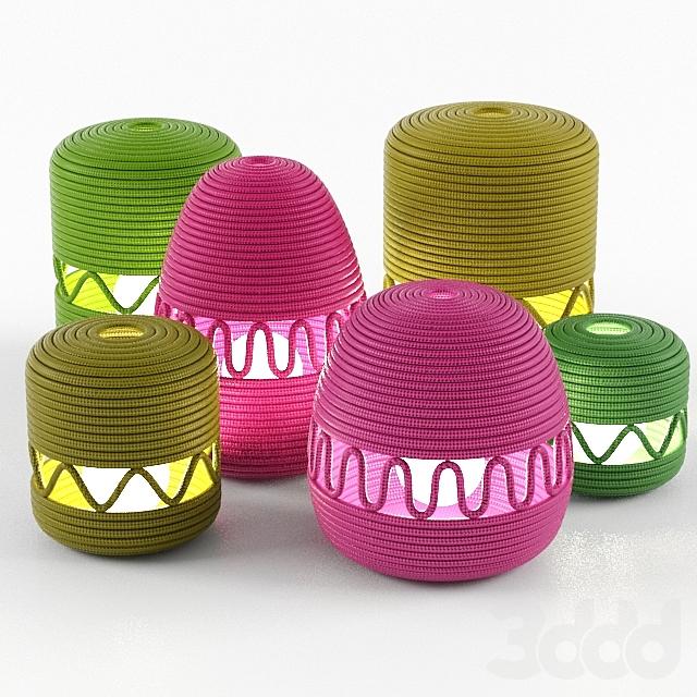 Agadir Rope Lanterns