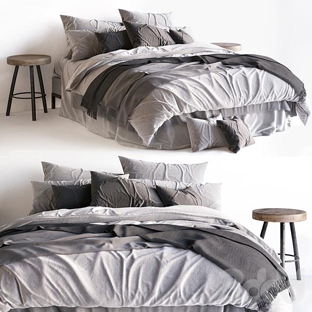 Bed / Scandinavian 2