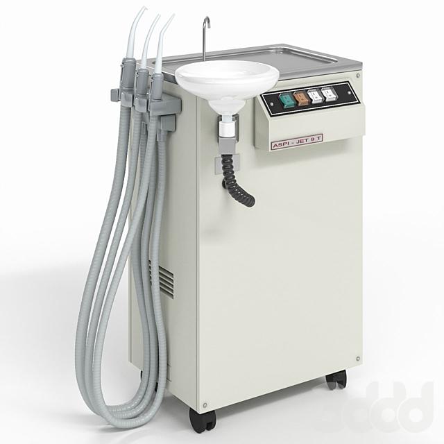 Аспиратор мобильный стоматологический Aspi Jet 9 y Cattani