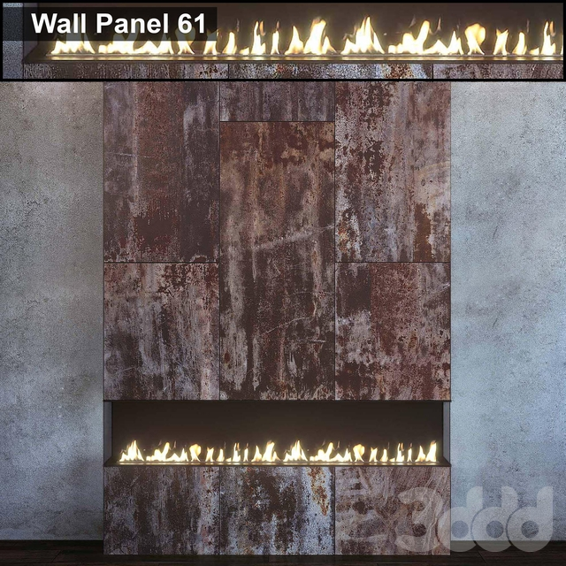 Wall Panel 61. Fireplace