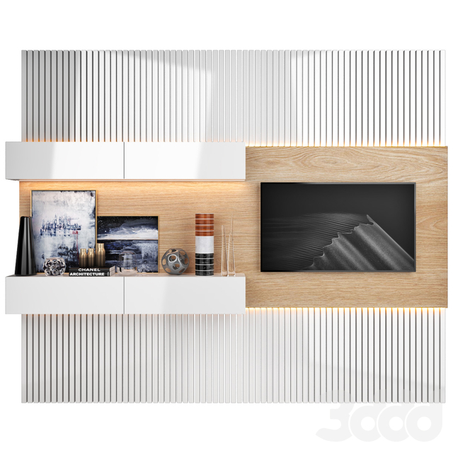 TV Wall   set 8