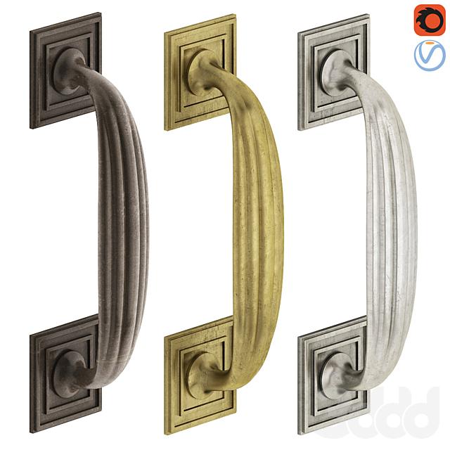 Door Pull Handle Nanz N° 6617