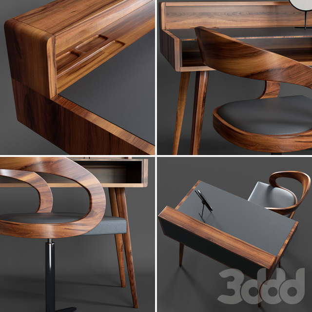 Sol home office and chair girado