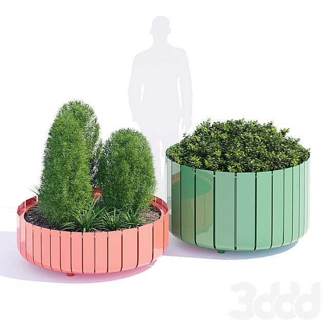 Stripes planter two