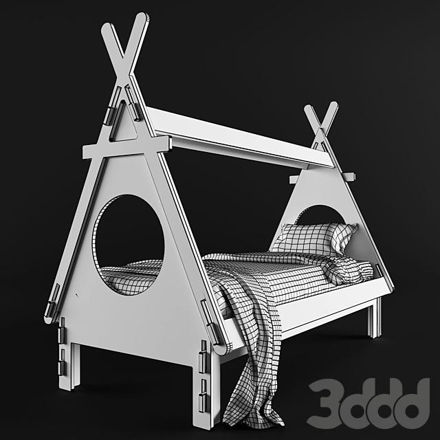 Детская кровать PLYWOOD