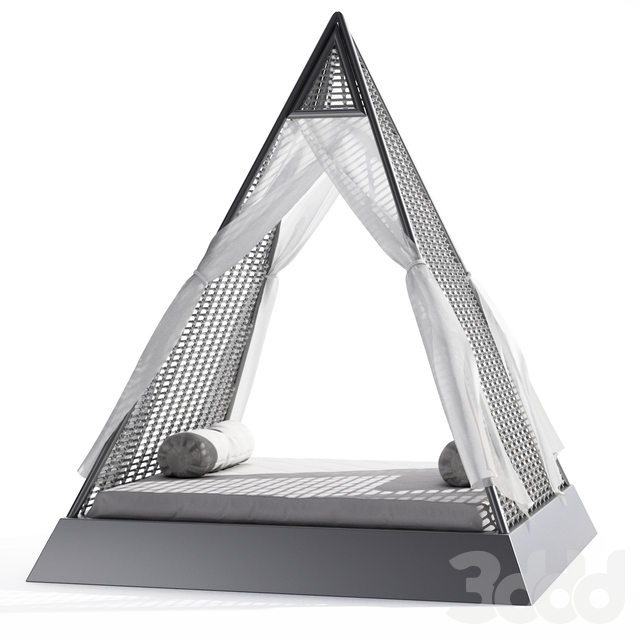 Pyramid Outdoor Bed