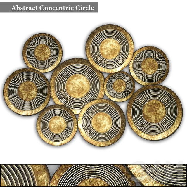 Abstract Concentric Circle