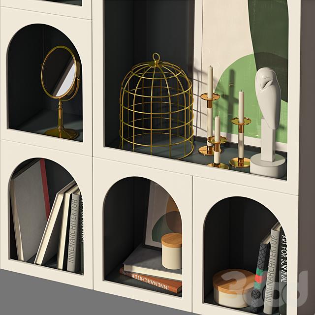 Книжный шкаф Bonaldo set 01