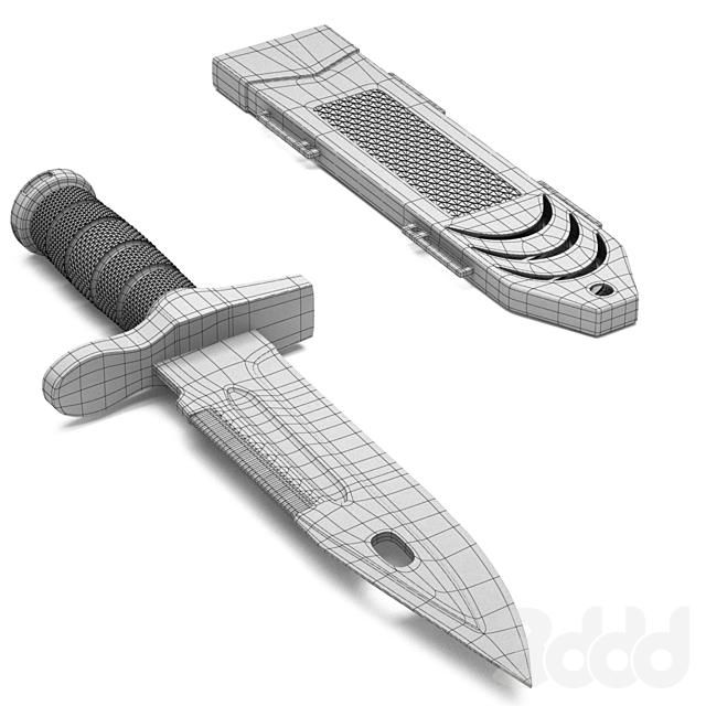 TACTICAL SURVIVAL Rambo Hunting Knife
