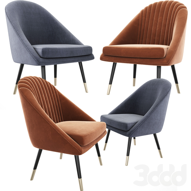 Cult Audrey Occasional Tub Lounge Chair Set