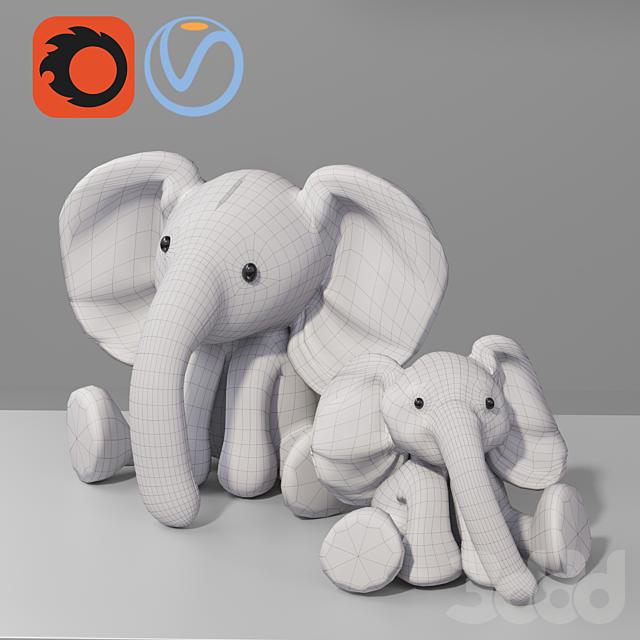 Baby Elephant Plush Toy for Kid