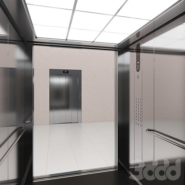 Лифт Kone MonoSpace 700 (KDS 50)