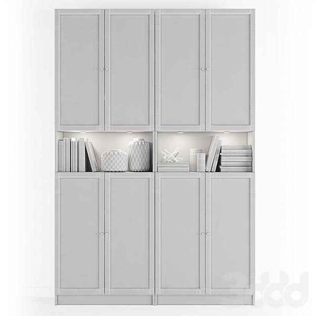 Стеллаж Билли / Оксберг Ikea.Комбинация-8
