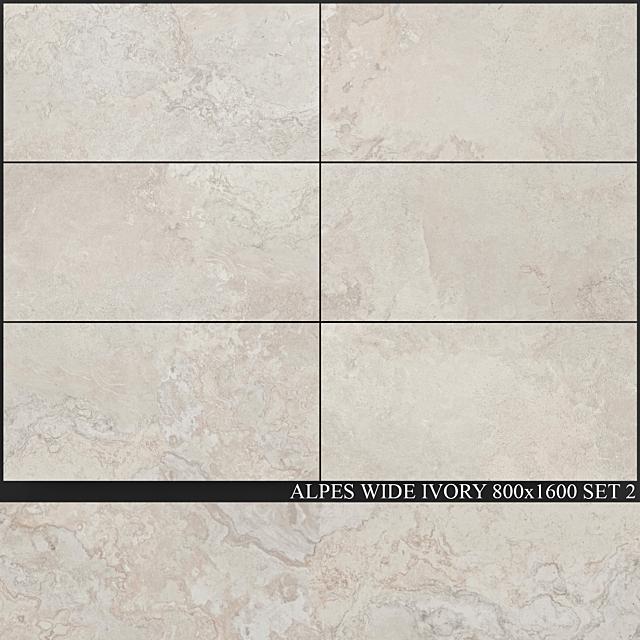 ABK Alpes Wide Ivory 800x1600 Set 2