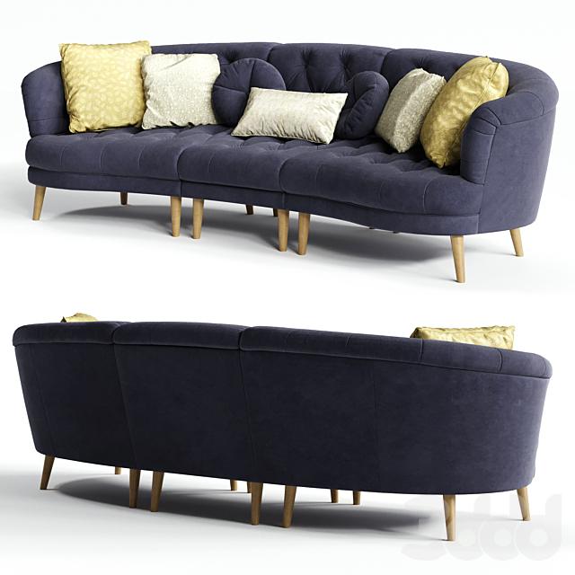 Alexander & James JEAN Maxi XL Sofa
