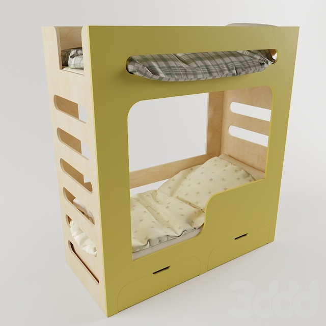 Кровать двухъярусная MOVE
