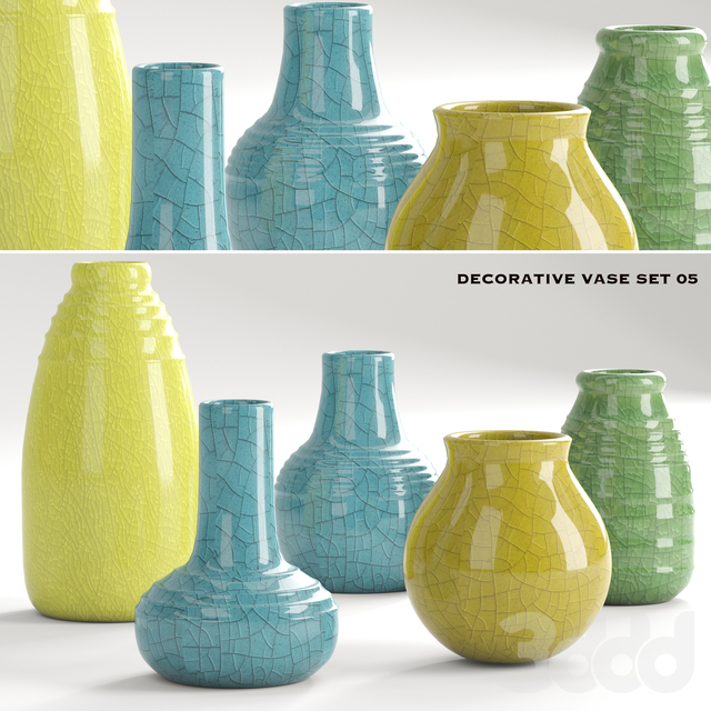 decorative vase set 5