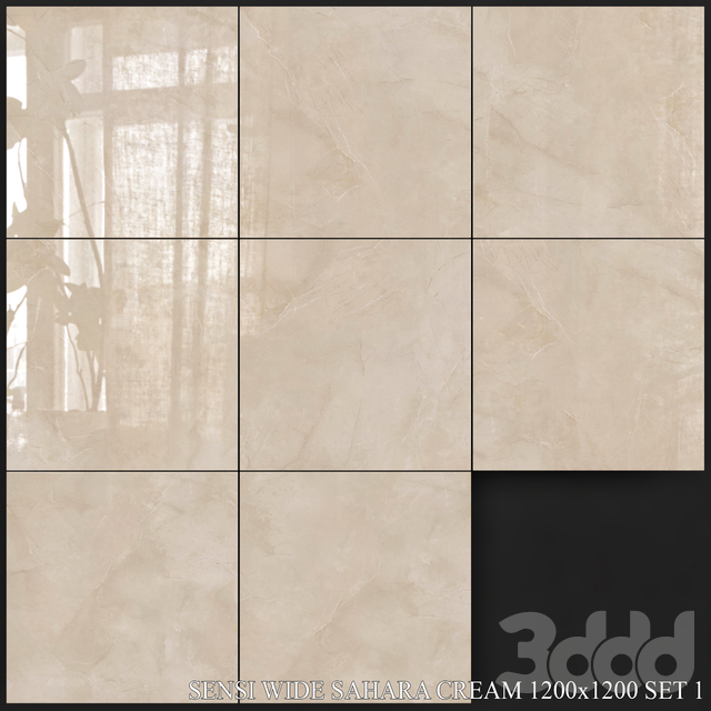 ABK Sensi Wide Sahara Cream 1200x1200 Set 1