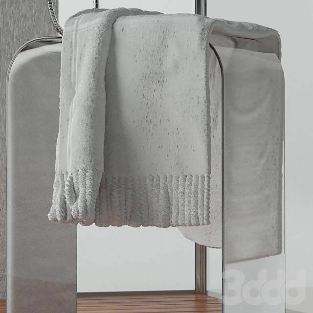 Душевая кабина Wasserfalle W-6001-A 100х100