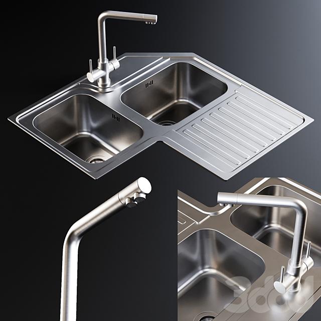 Sink Alba and Mixer Amalfi