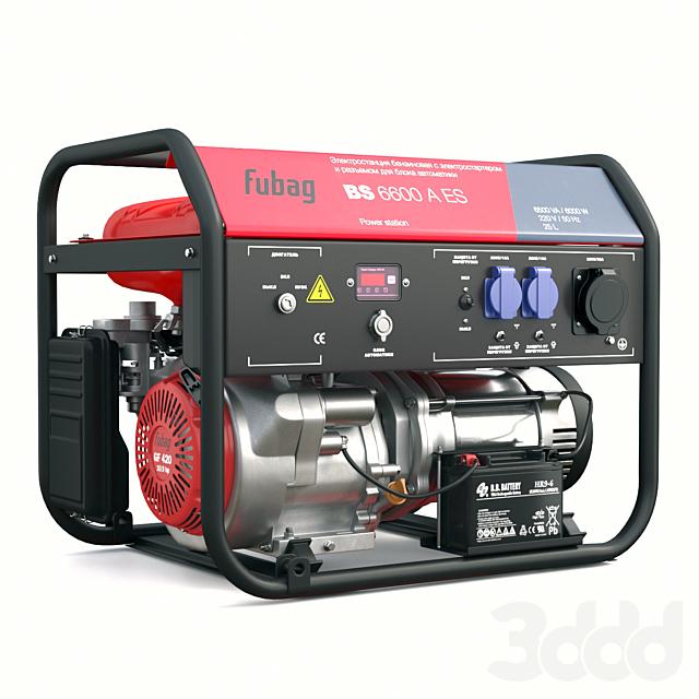 Электрогенератор Fubag BS 6600 ES
