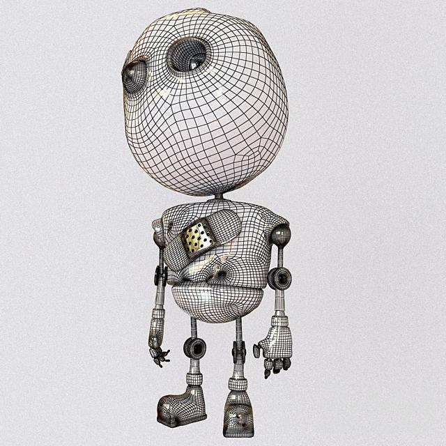 Робот младенец