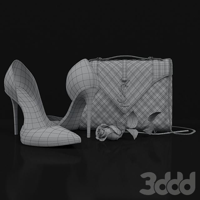 Designer Shoes And Bag