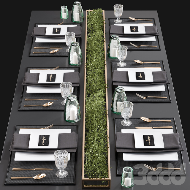 Kitchen Serving Table 3