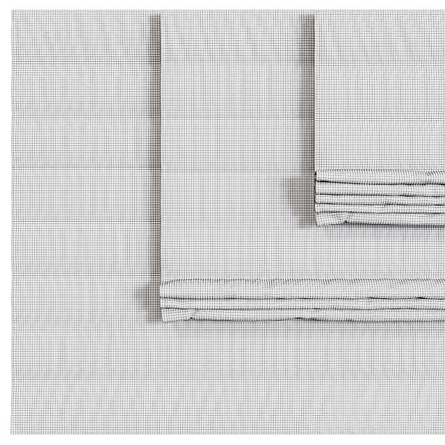 Полосатая Римская штора