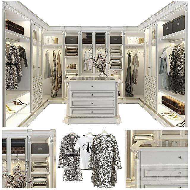 Гардеробная Benedetti luxury_1