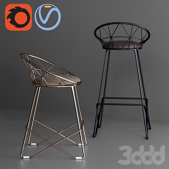 Winsor Rolf Kimsai Chair Stool