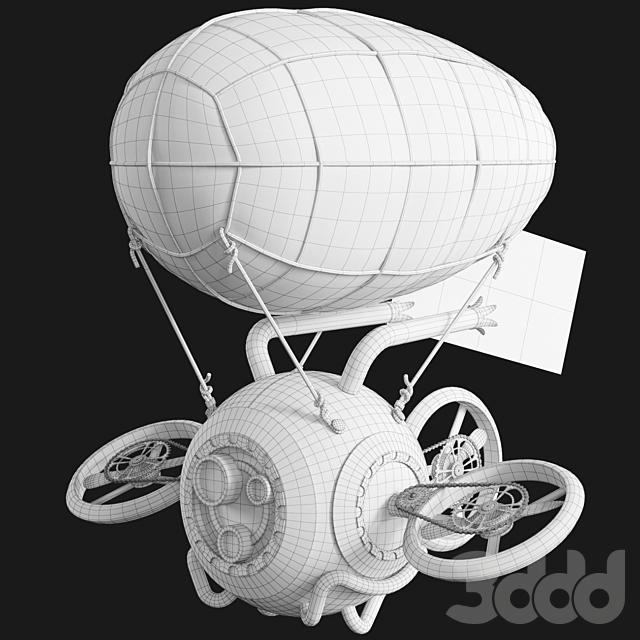 Steampunk Drone