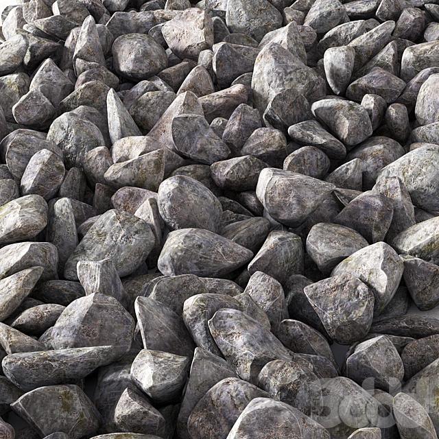Ice Stone Rock / Ледниковый скальный камень