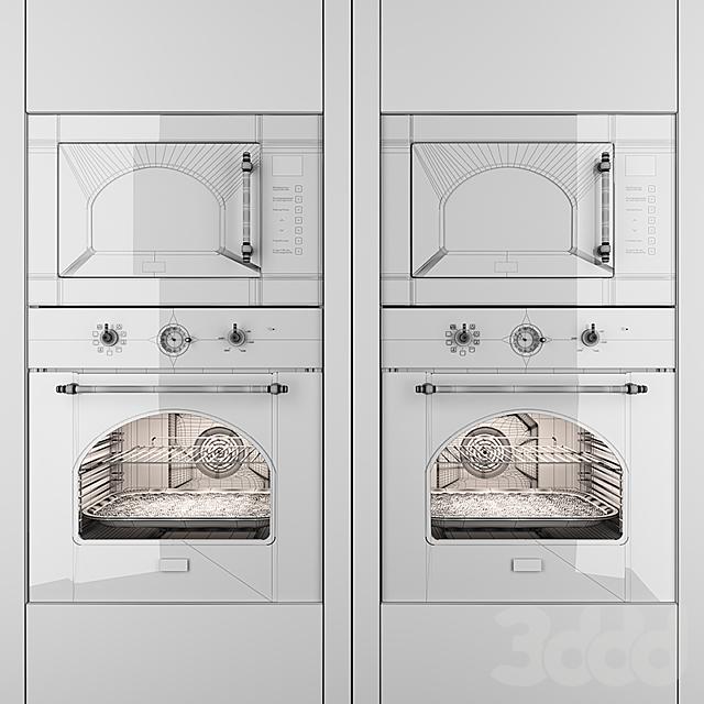 Midea microwave MI 9252, oven MO 58100, Ivory,Black