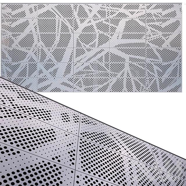 perforated metal panel N24