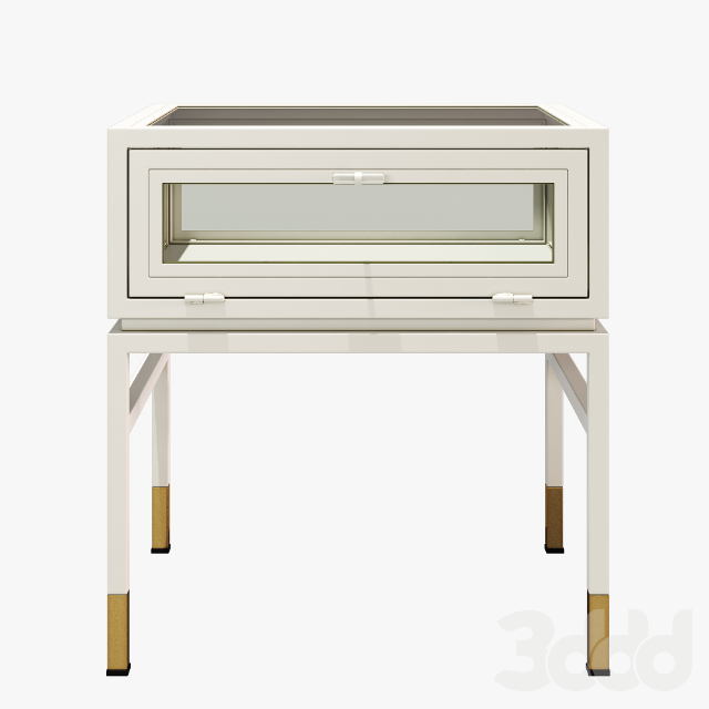 Anthropologie tannehill display side table-storage console table