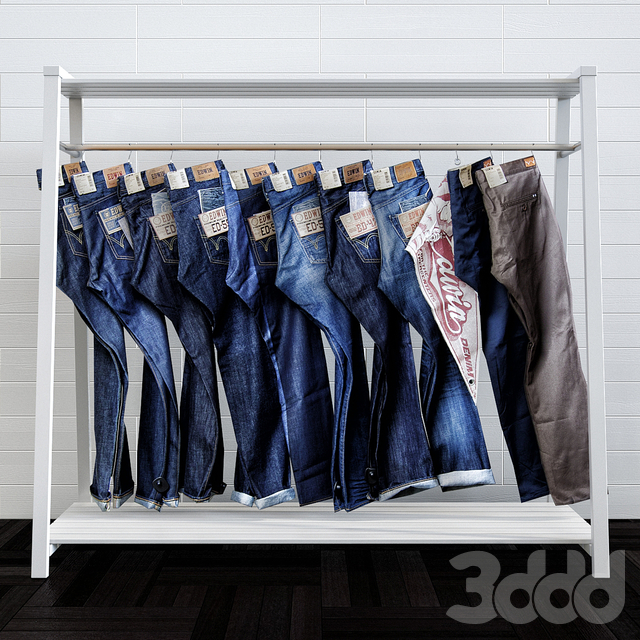 Stand with Jeans