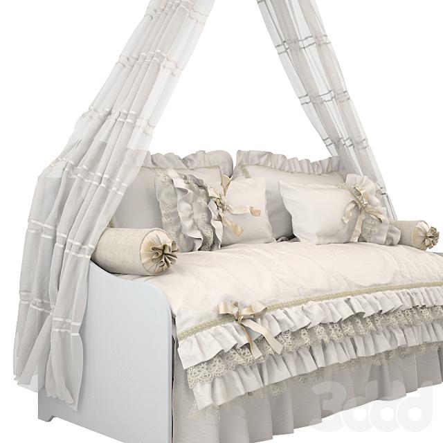 Кровать с балдахином 02