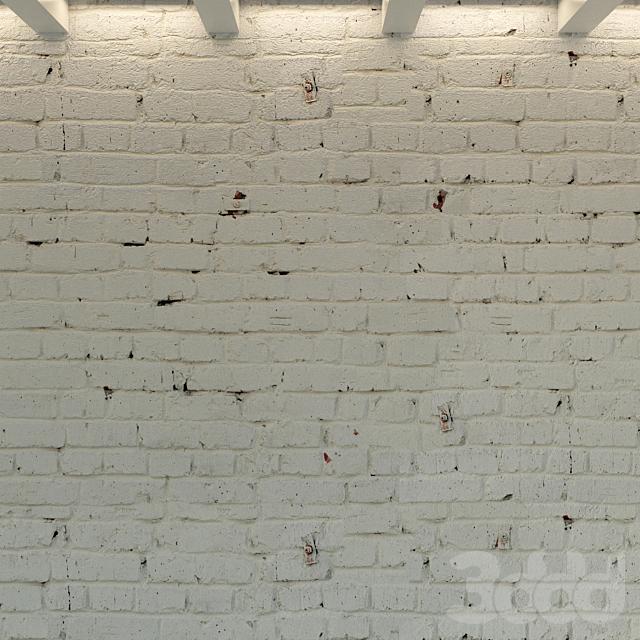 Кирпичная стена. Старый кирпич. 75