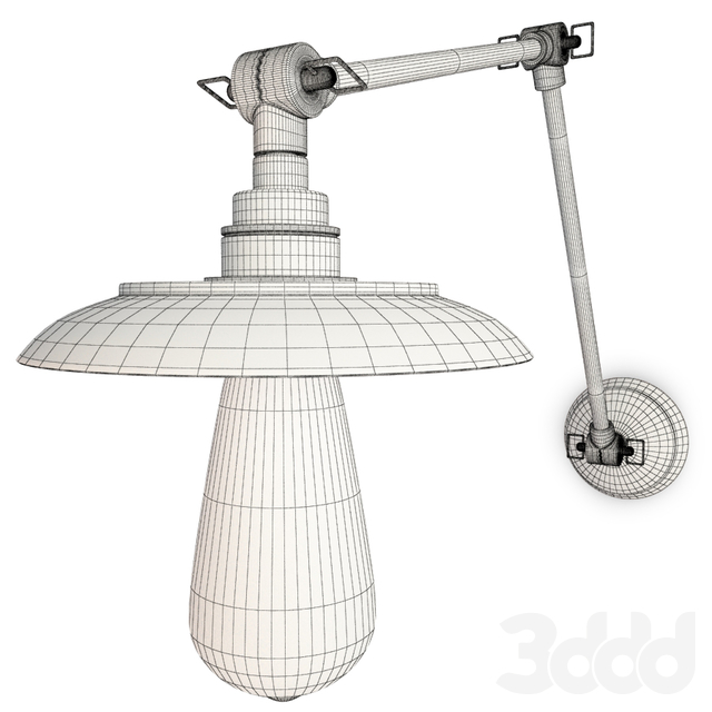 Industrial Wall Lamp Reznor