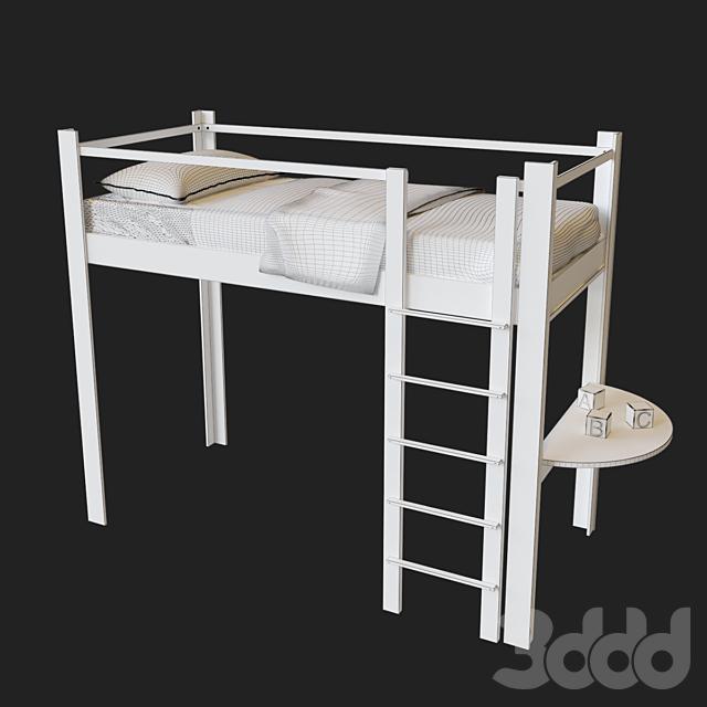 Кровать детская 2 этажа  De Breuyn Debe.destyle