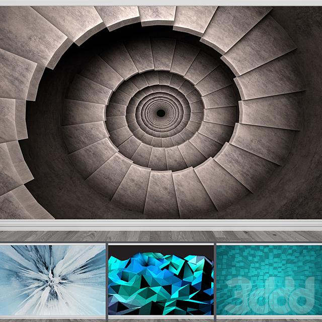 Фотообои Сет 4 (4 текстур)