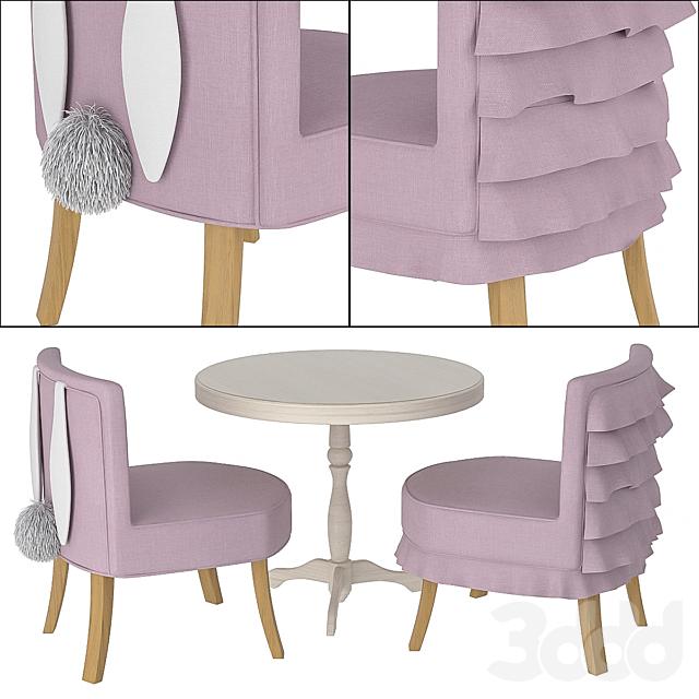 Детский стол с креслами Amari