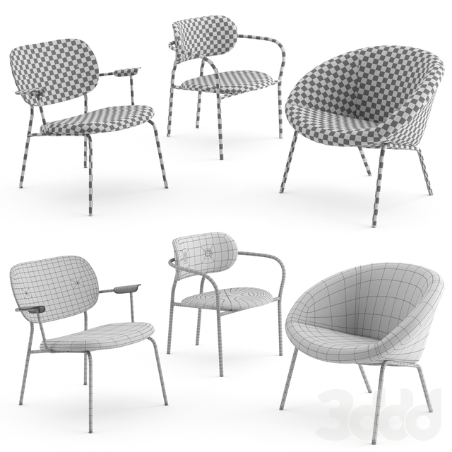 Lounge chairs collection