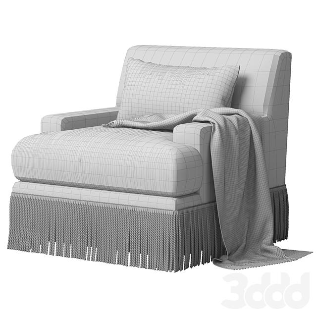 Baker Yves Lounge Chair