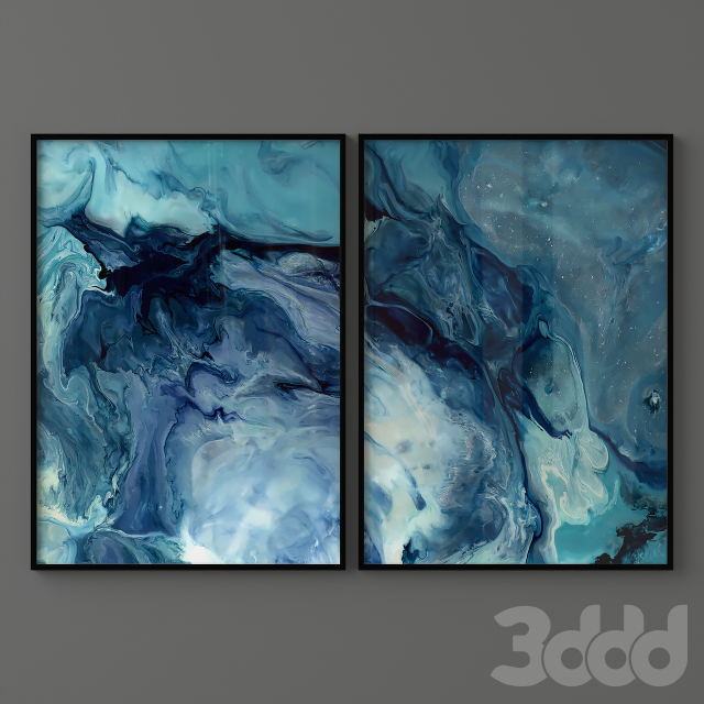 Abstract Pair Posters 01
