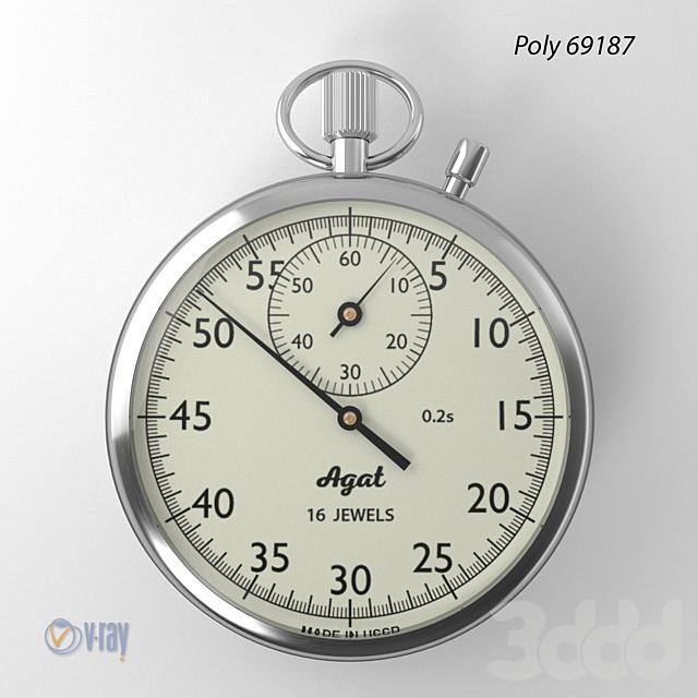 Секундомер АГАТ (Stopwatch Agat)