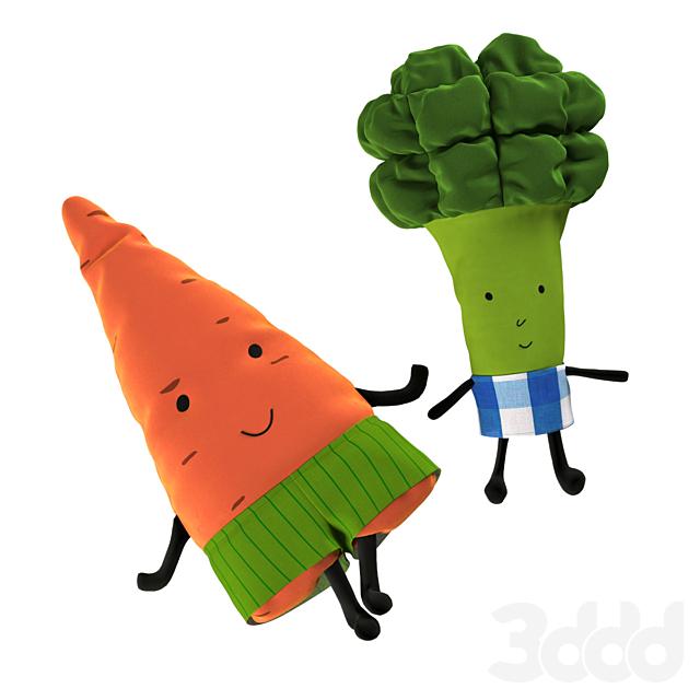Морковь и Брокколи