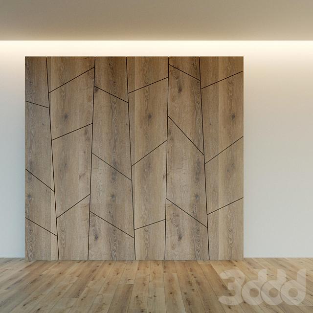 Стеновая панель из дерева. Декоративная стена. 9
