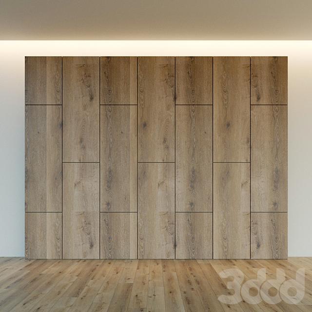 Декоративная стена. Стеновая панель из дерева. 12